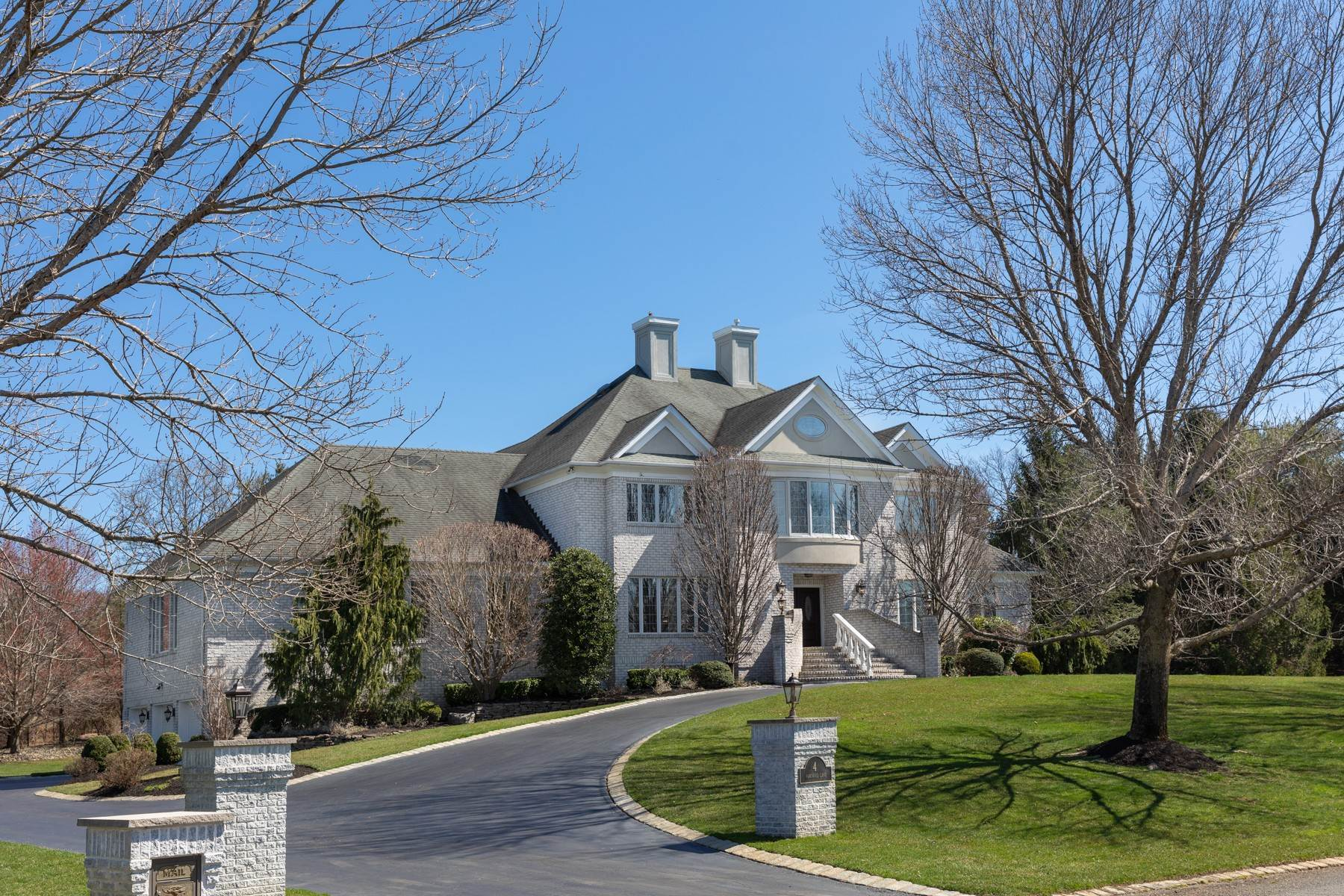 Single Family Homes for Sale at Recent Upgrades 4 Parkwood Lane Colts Neck, New Jersey 07722 United States