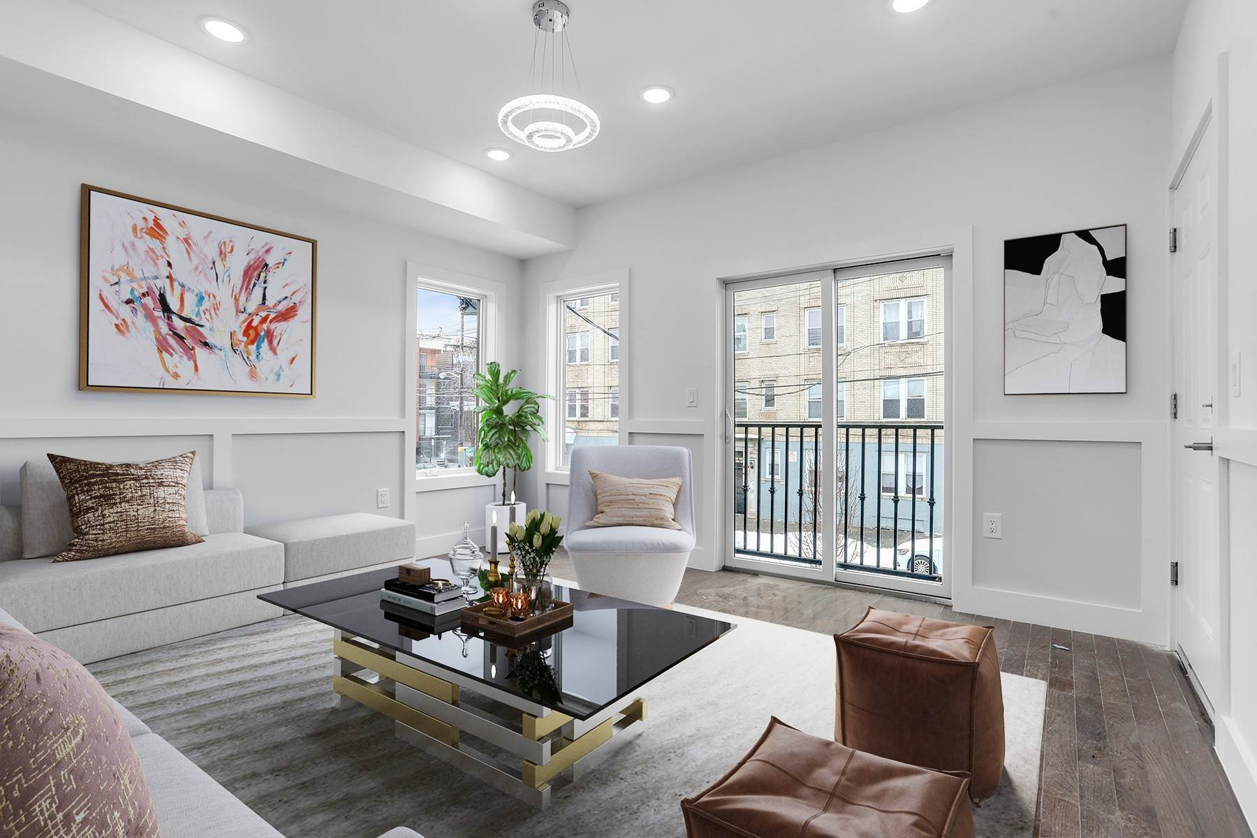 Condominiums for Sale at Welcome home to this brand new constructed 1 bed/ 1 bath condo. 66 Poplar Street, Unit 3 Jersey City, New Jersey 07307 United States