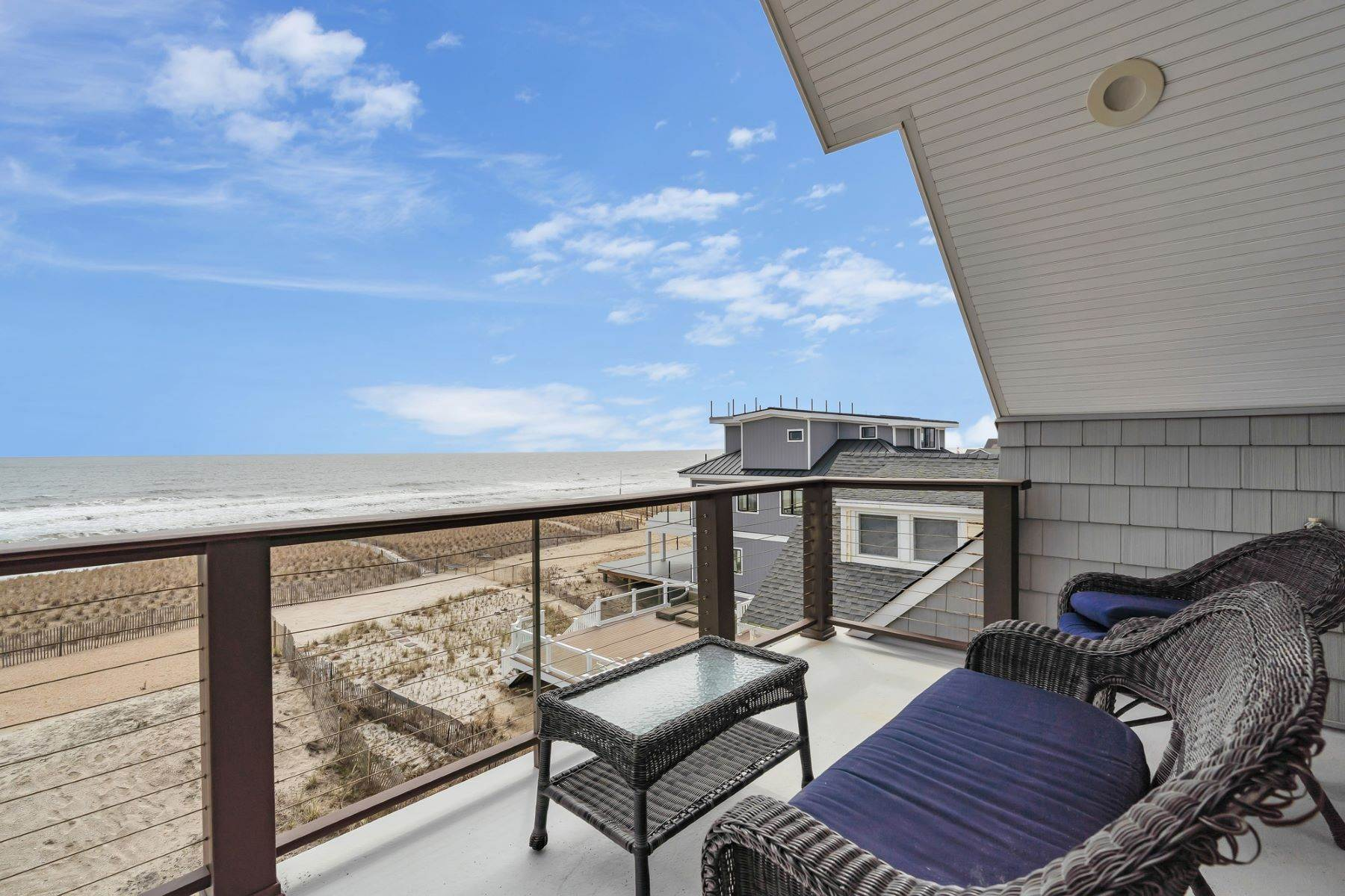 29. Single Family Homes for Sale at Truly Spectacular Oceanfront Home Is Exquisitely Designed 100 Lyndhurst Drive Mantoloking, New Jersey 08738 United States
