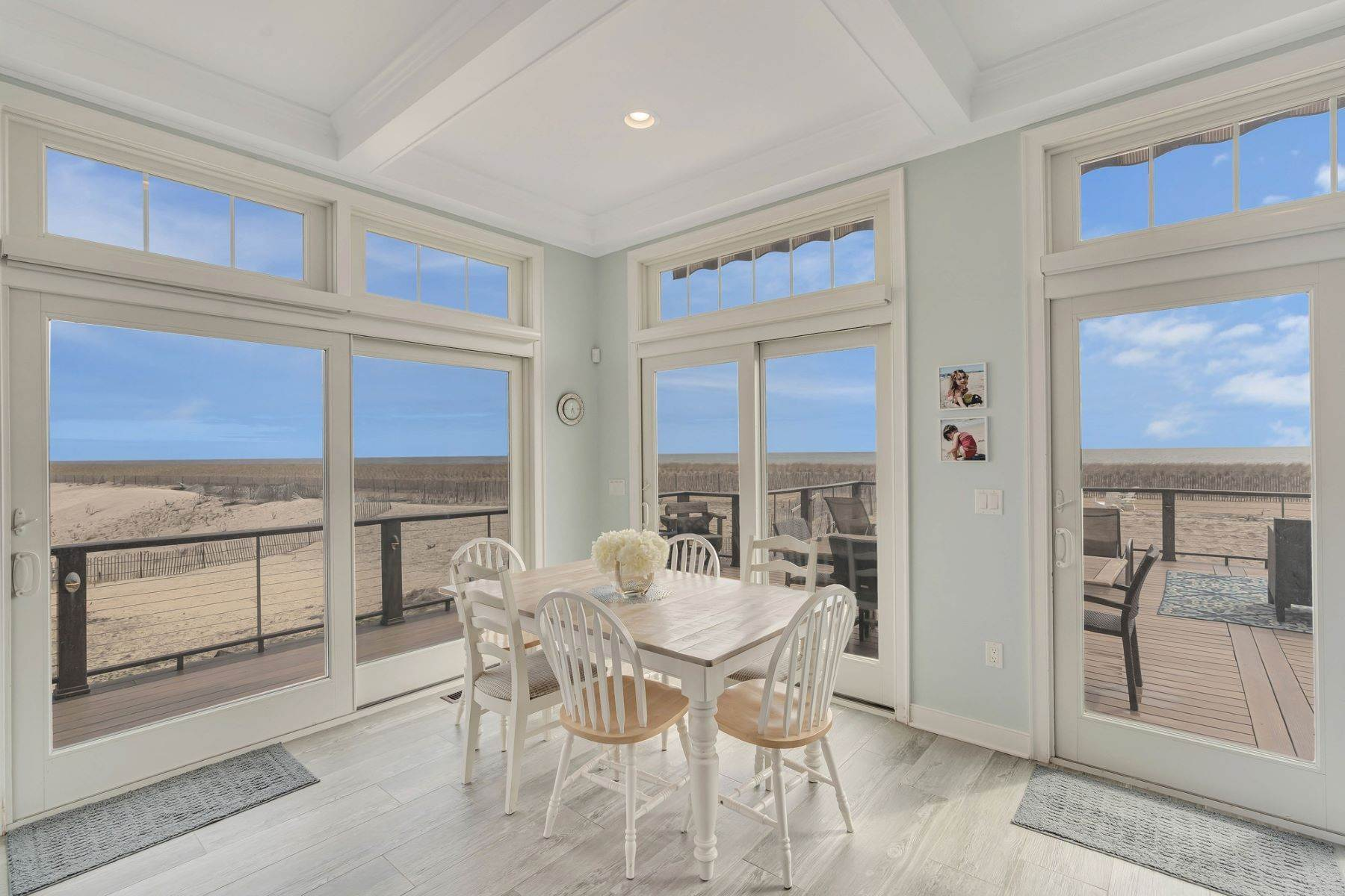 12. Single Family Homes for Sale at Truly Spectacular Oceanfront Home Is Exquisitely Designed 100 Lyndhurst Drive Mantoloking, New Jersey 08738 United States