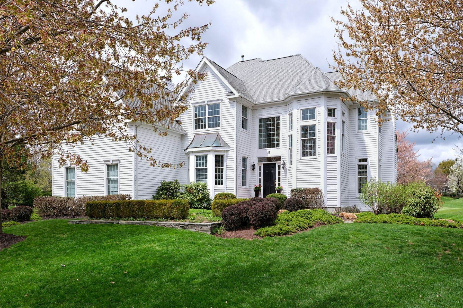 Single Family Homes for Sale at Resort Living In This Gorgeous Cherry Valley Home 80 John Blaw Drive Skillman, New Jersey 08558 United States