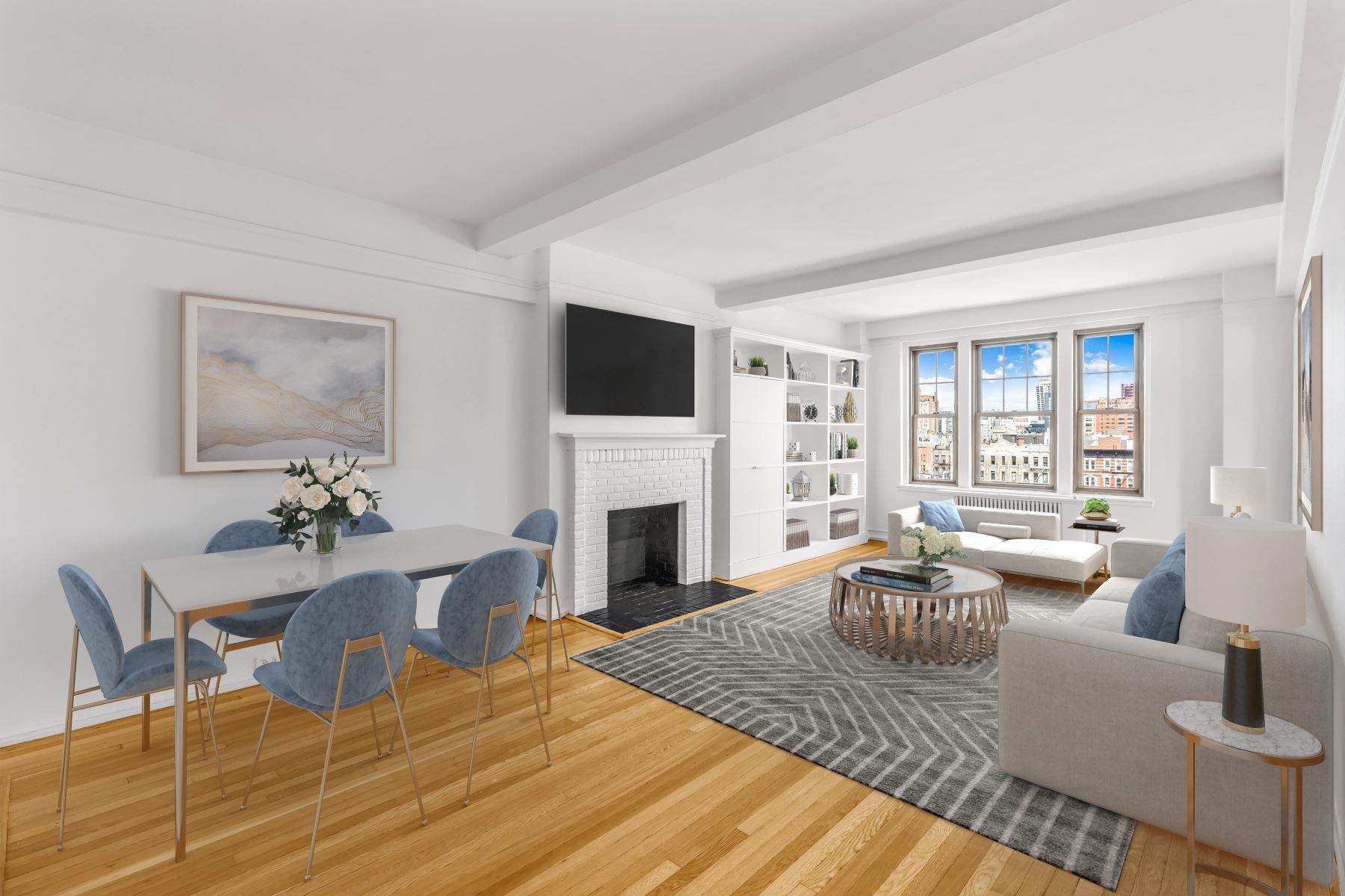 Condominiums for Sale at Spacious&Sunny 1-Bed Condo in W. Village 45 Christopher Street, 9F New York, New York 10014 United States